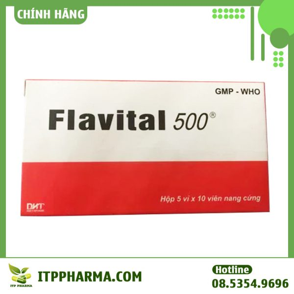 Hộp thuốc Flavital 500