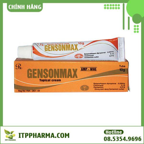 Hình ảnh thuốc Gensonmax 10g