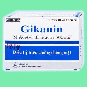 HÌnh ảnh thuốc Gikanin