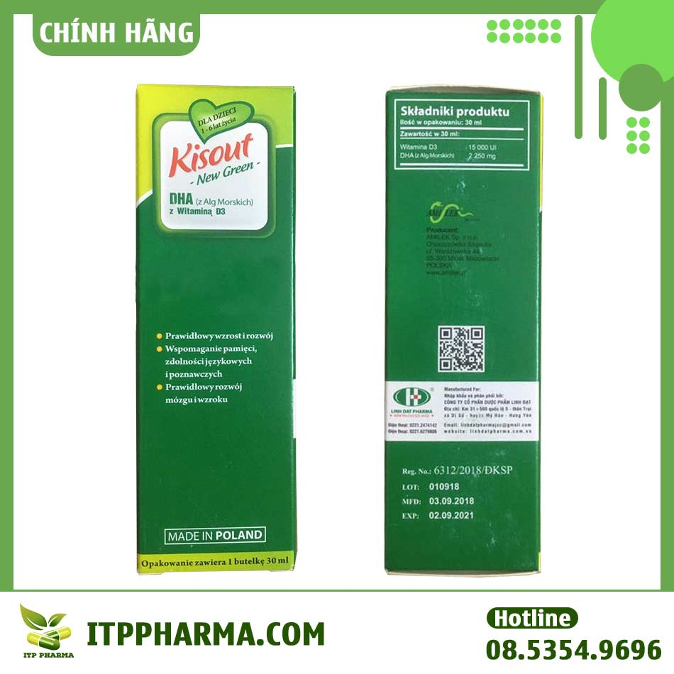 Hộp Kisout New Green