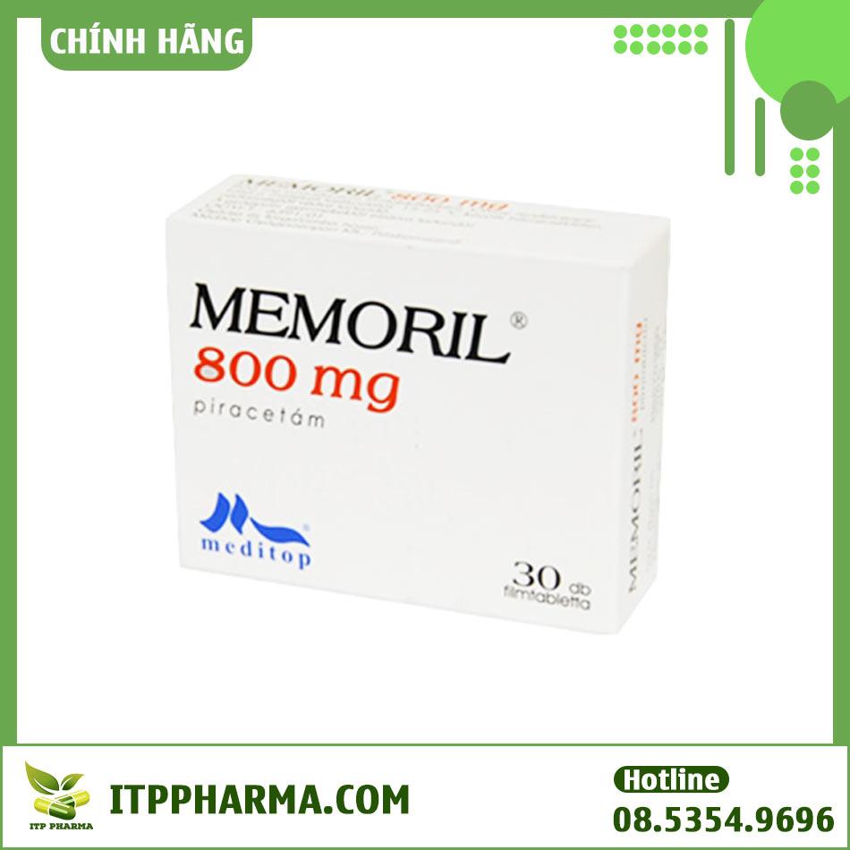 Memoril 800mg - Điều trị suy nhược cơ thể và cải thiện trí nhớ