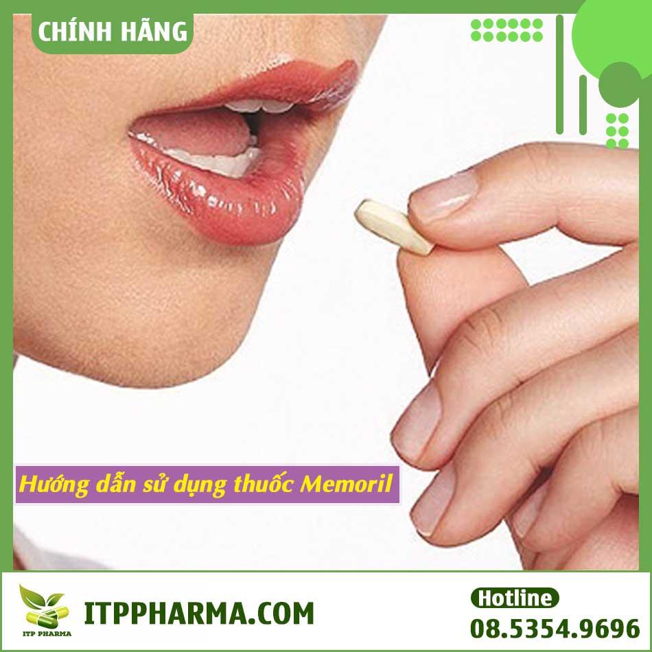 Hướng dẫn sử dụng thuốc Memoril