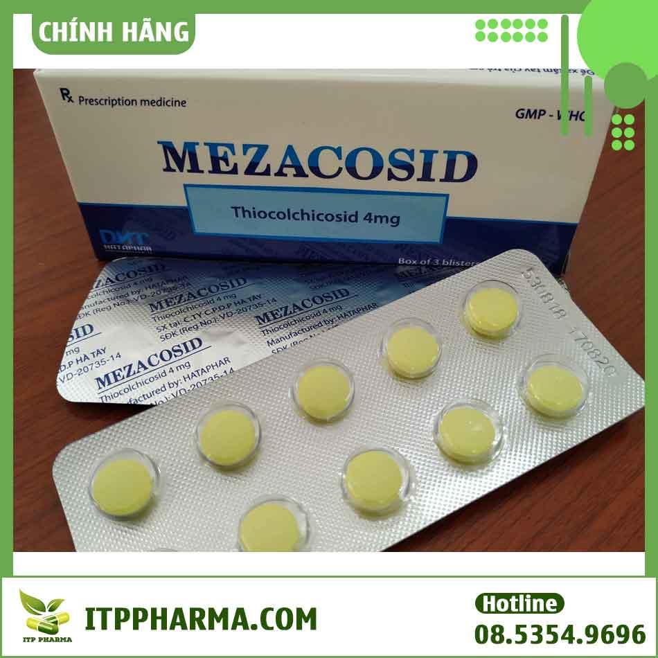 Cách sử dụng thuốc Mezacosid