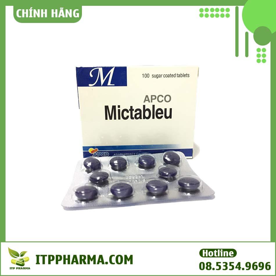 Hộp sản phẩm Mictableu Apco