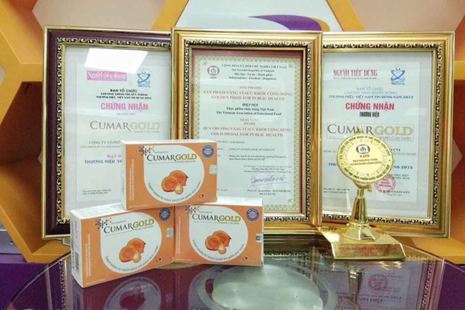 Một số giải thưởng của CVI Pharma