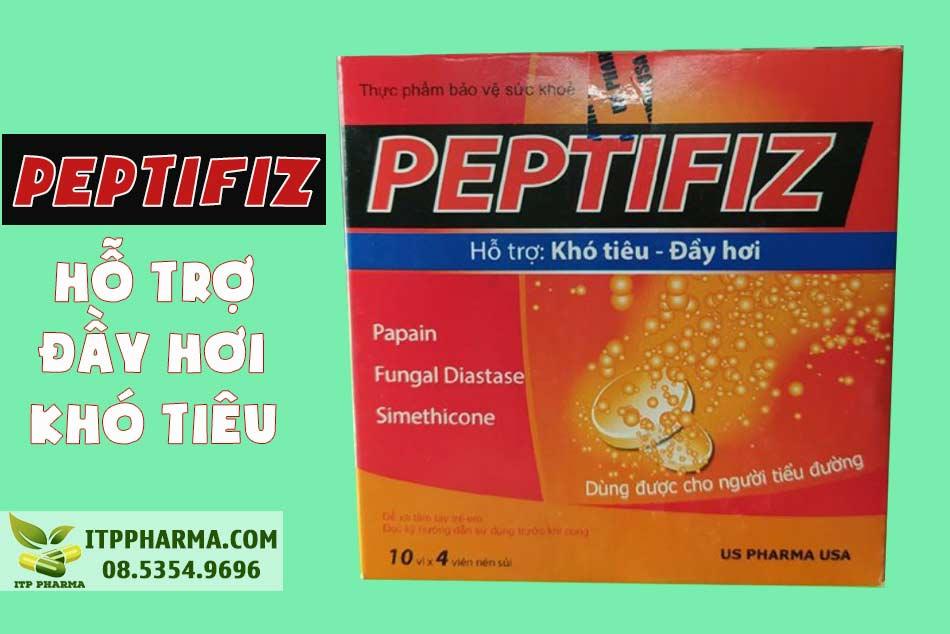 Peptifiz có tác dụng phụ gì?