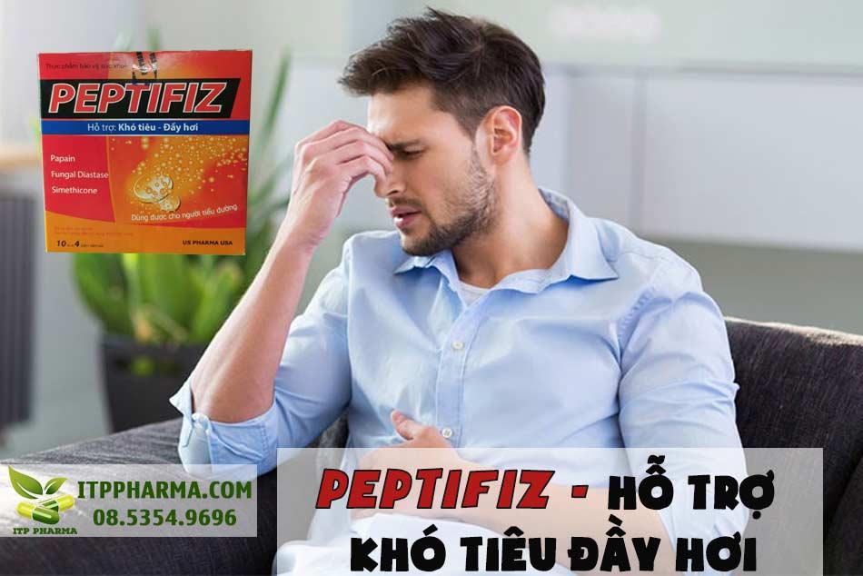 Peptifiz - thực phẩm hỗ trợ khó tiêu, đầy hơi
