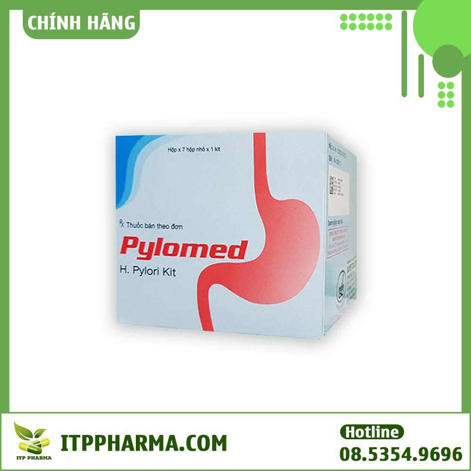 Hộp thuốc Pylomed