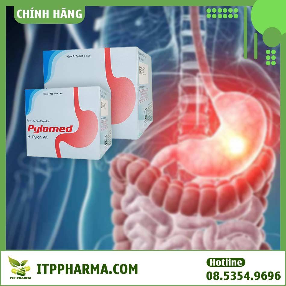 Thuốc Pylomed điều trị loét dạ dày hiệu quả