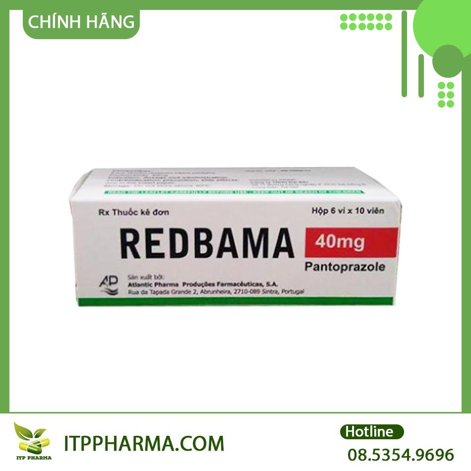 Thuốc Redbame dùng trong điều trị bệnh dạ dày, tá tràng