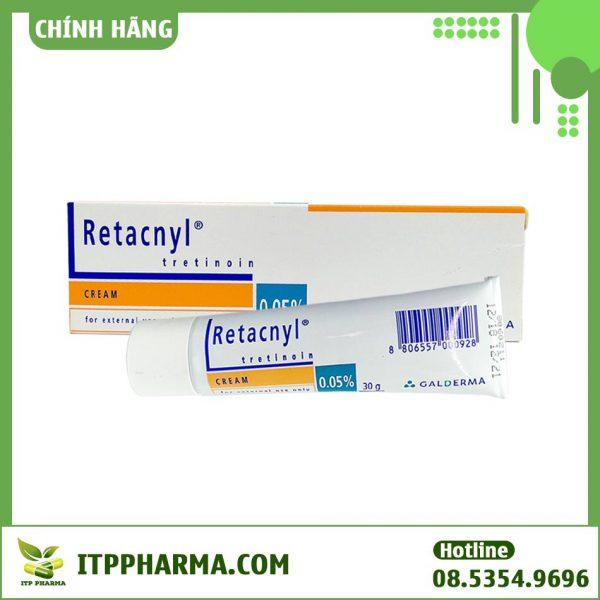 Kem đặc trị mụn Retacnyl Tretinoin Cream 0.05%