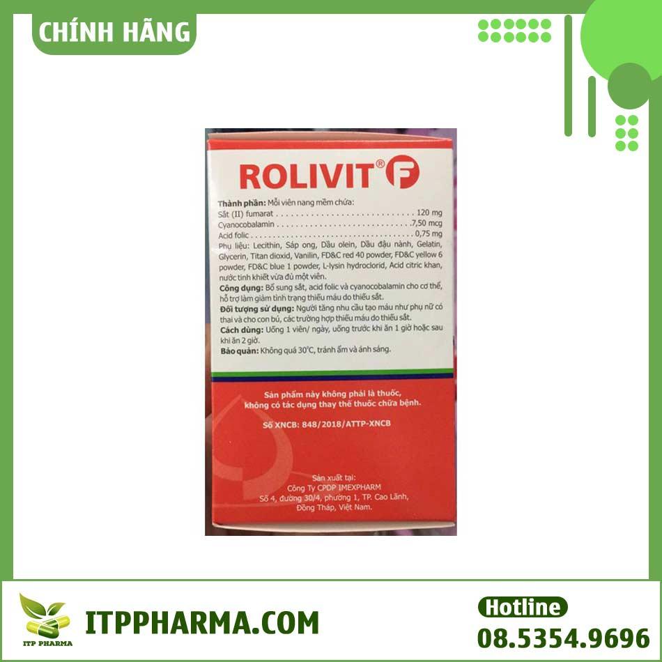 Thuốc Rolivit