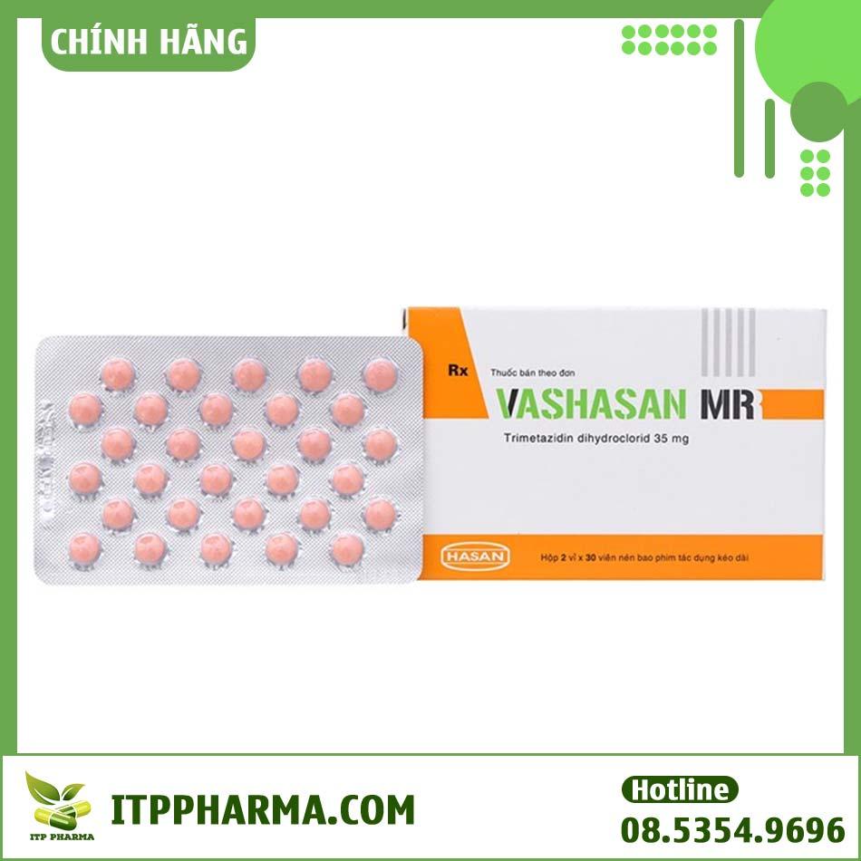 Hộp thuốc và vỉ thuốc Vashasan MR