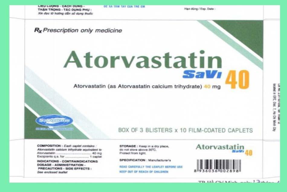 Hình ảnh 3 mặt hộp thuốc VASLOR