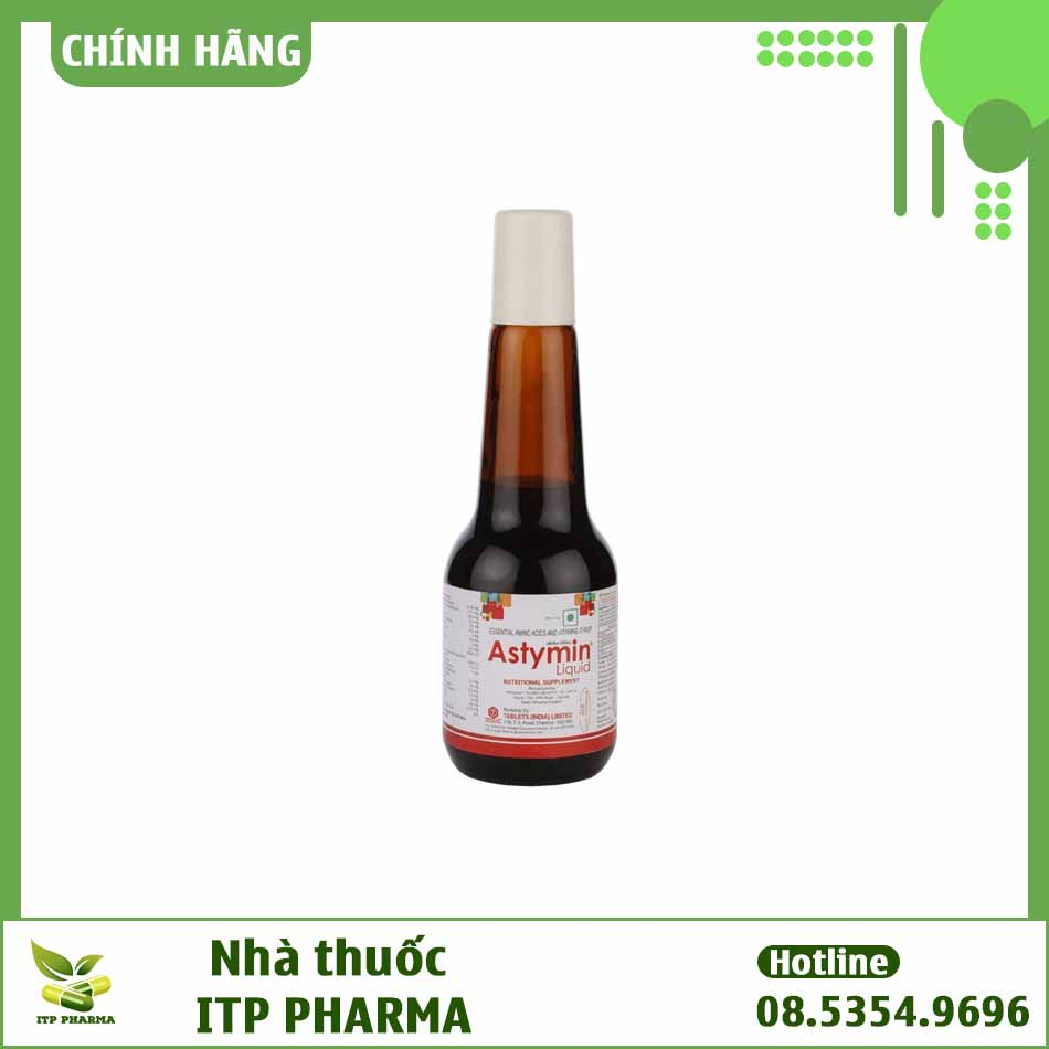 Hình ảnh lọ thuốc Astymin Liquid