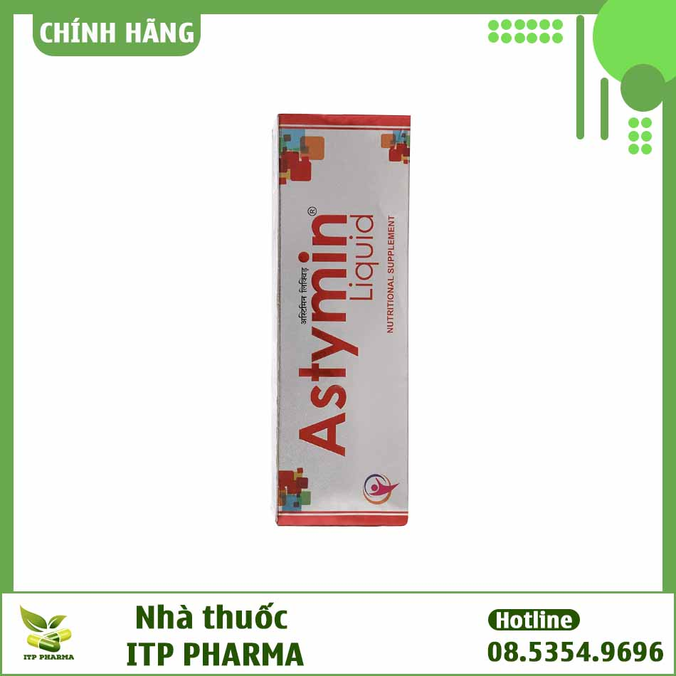 Hình ảnh hộp thuốc Astymin Liquid