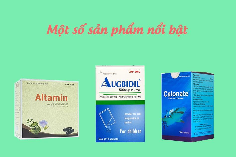 Hình ảnh một số sản phẩm nổi bật của Bidiphar
