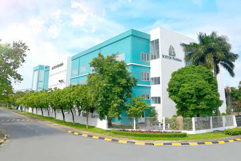 Nhà máy sản xuất Công ty Boston Pharma