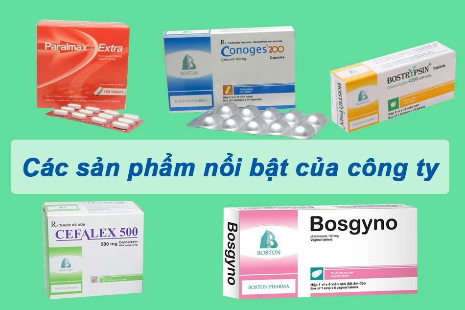 Sản phẩm nổi bật của Boston Pharma