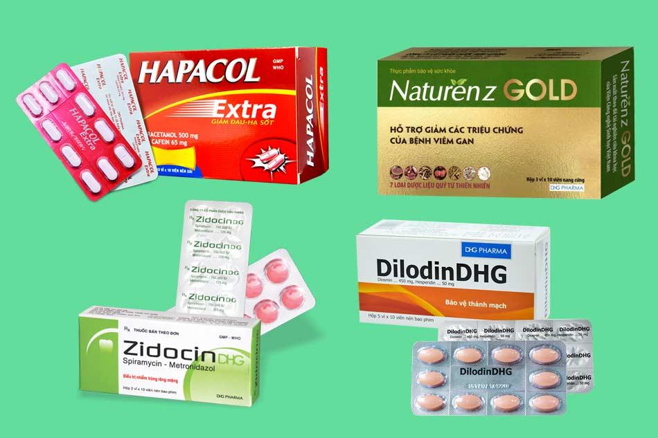 Sản phẩm nổi bật của công ty DHG Pharma