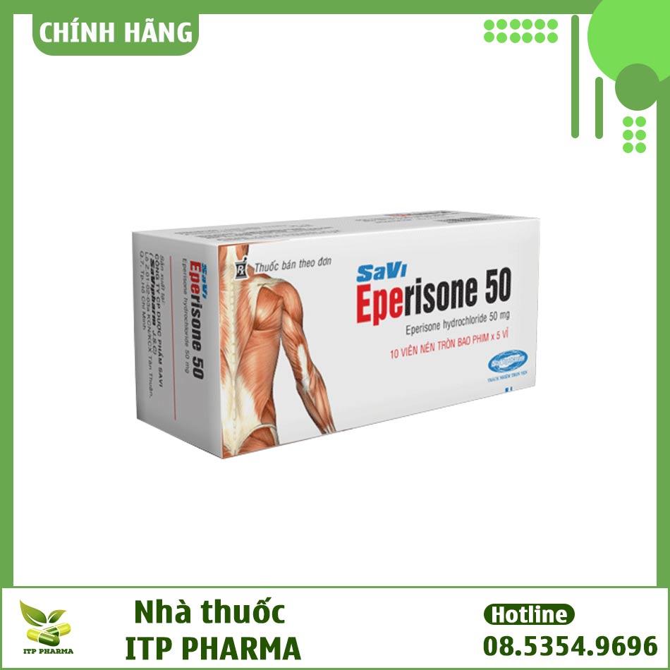 Hộp thuốc Eperisone 50mg