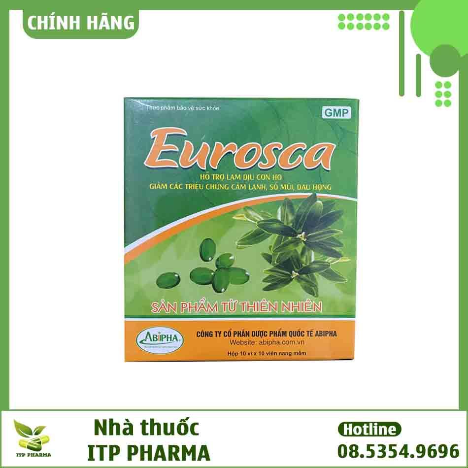 Tương tác của thuốc Eurosca
