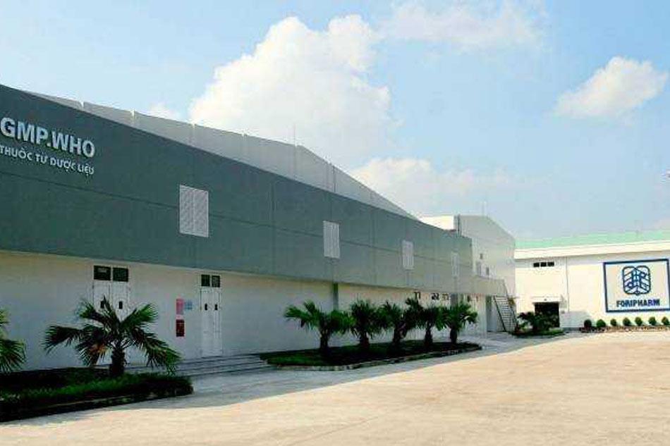 Nhà máy sản xuất của công ty
