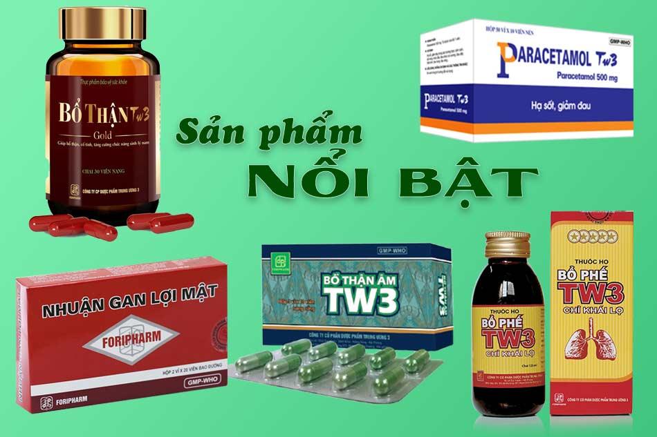 Một số sản phẩm nổi bật của Foripharm