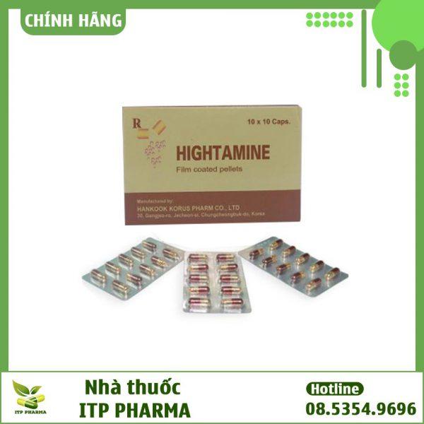 Thuốc Hightamine - Cung cấp vitamin và khoáng chất cho cơ thể, giúp tăng cường sức khỏe
