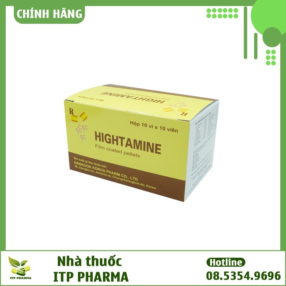 Thuốc Hightamine có thể mua ở đâu?