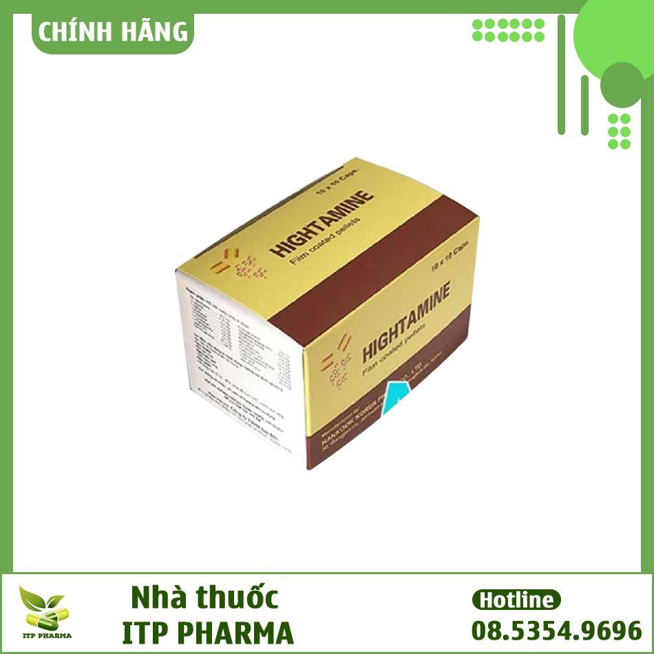Hình ảnh hộp thuốc Hightamine