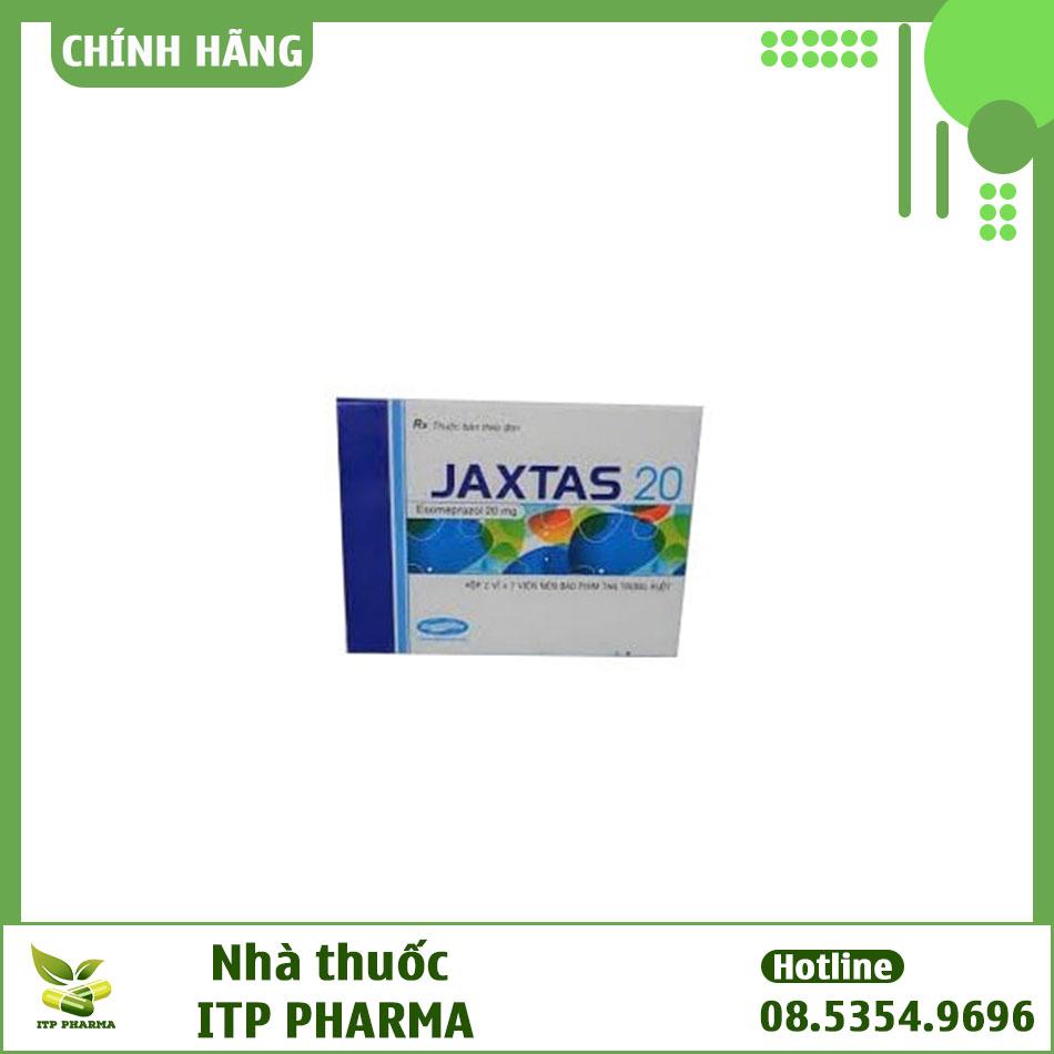 Tương tác thuốc Jaxtas
