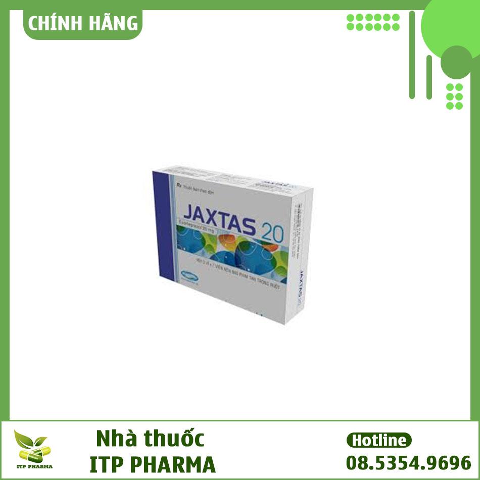 Hình ảnh hộp thuốc Jaxtas