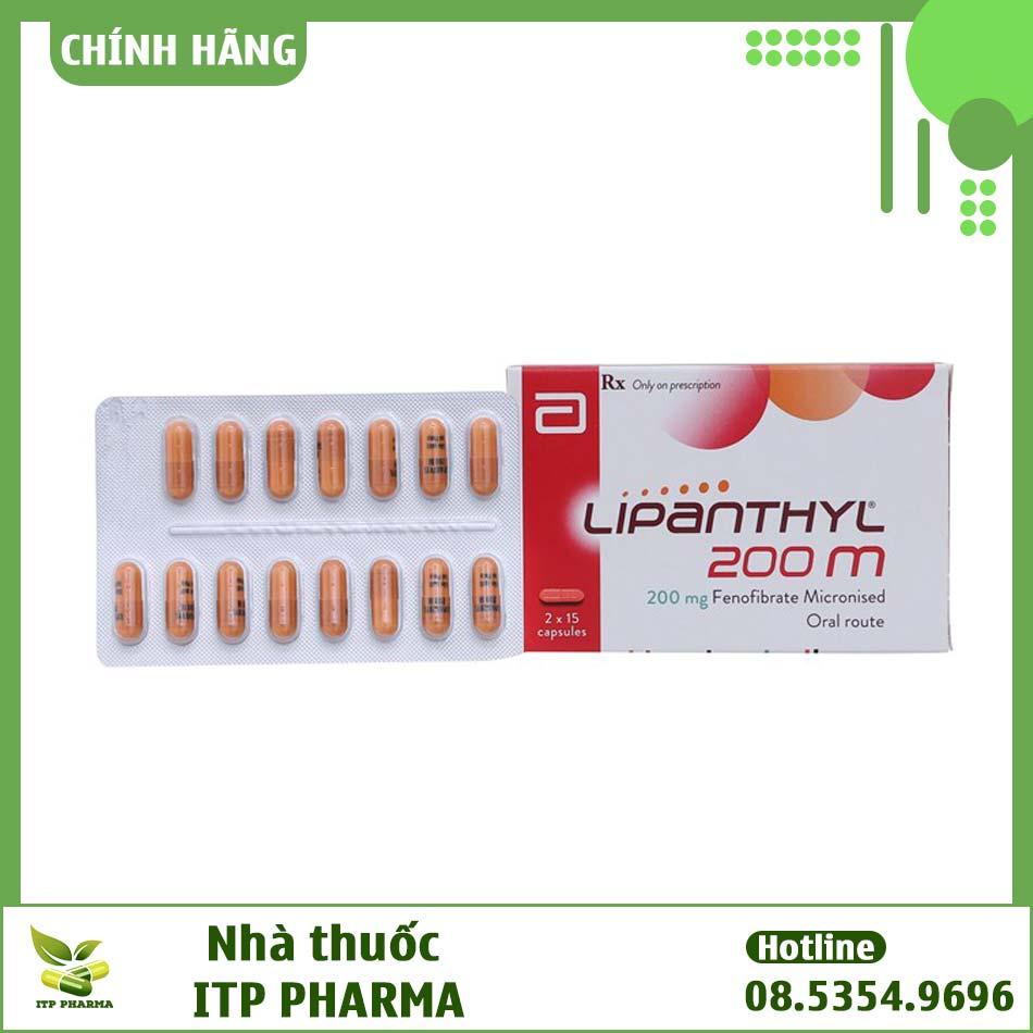 Hình ảnh hộp thuốc Lipanthyl 200m