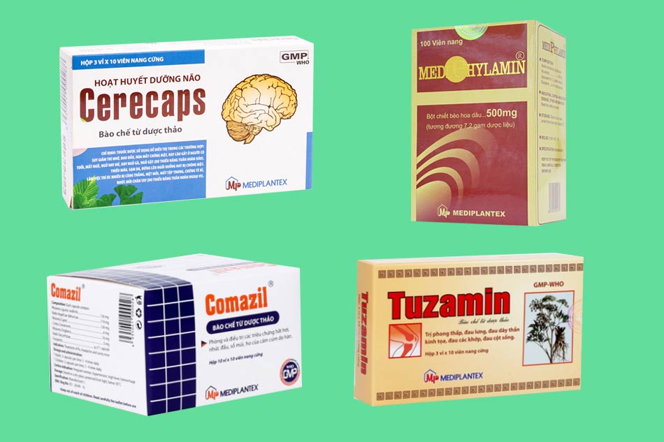 Sản phẩm nổi bật của công ty Dược phẩmMediplantex