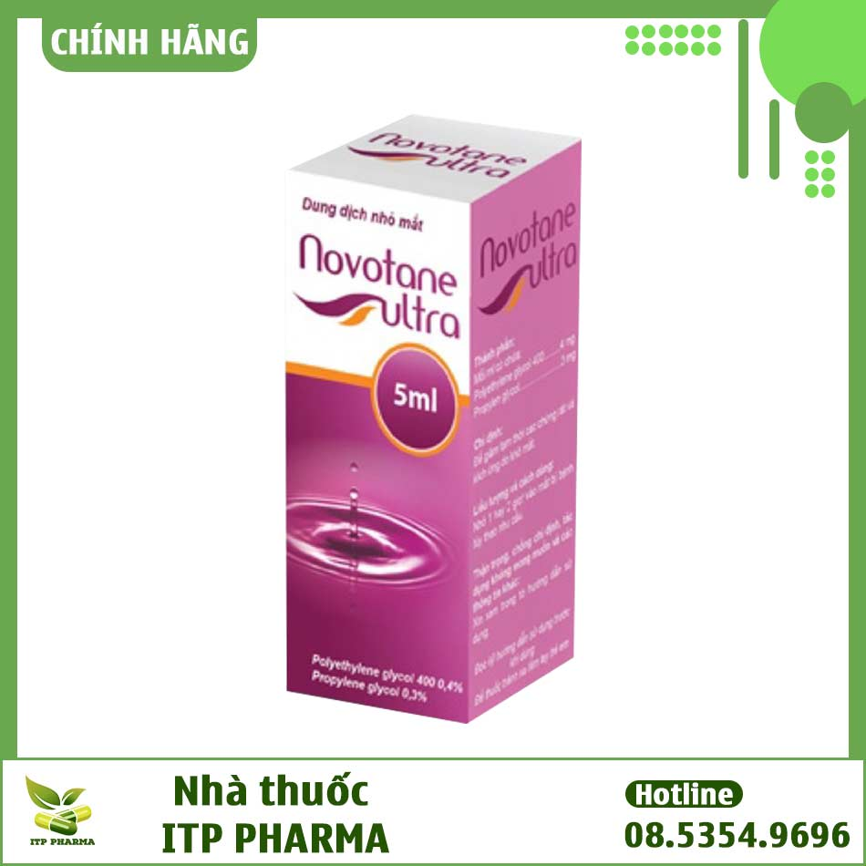 Hình ảnh hộp thuốc Novotane Ultra