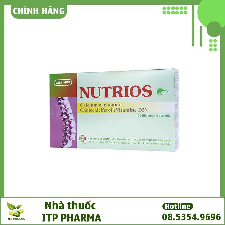 Hình ảnh hộp thuốc Nutrios