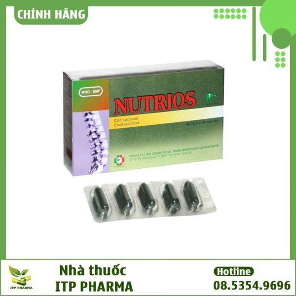 Nutrios - Phòng ngừa và điều trị bệnh loãng xương