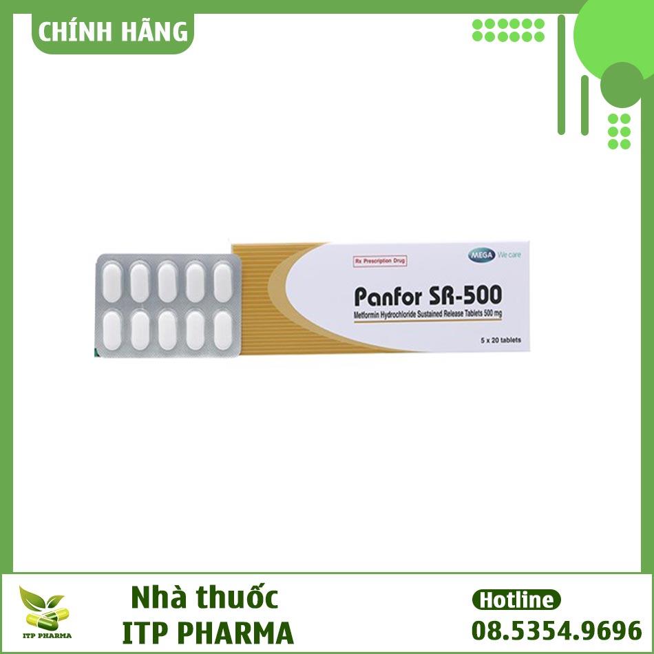Thuốc Panfor Sr 500 có thể mua ở đâu?