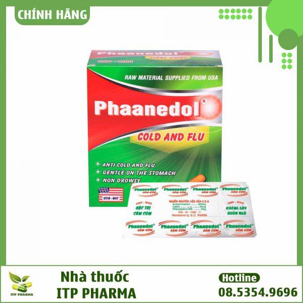 Thuốc Phaanedol - Giúp giảm đau, hạ sốt, chống viêm không steroid