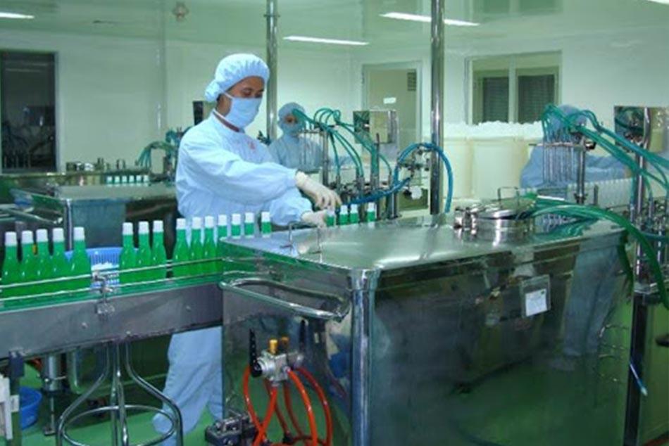 Hình ảnh hoạt động sản xuất của công ty Pharmedic