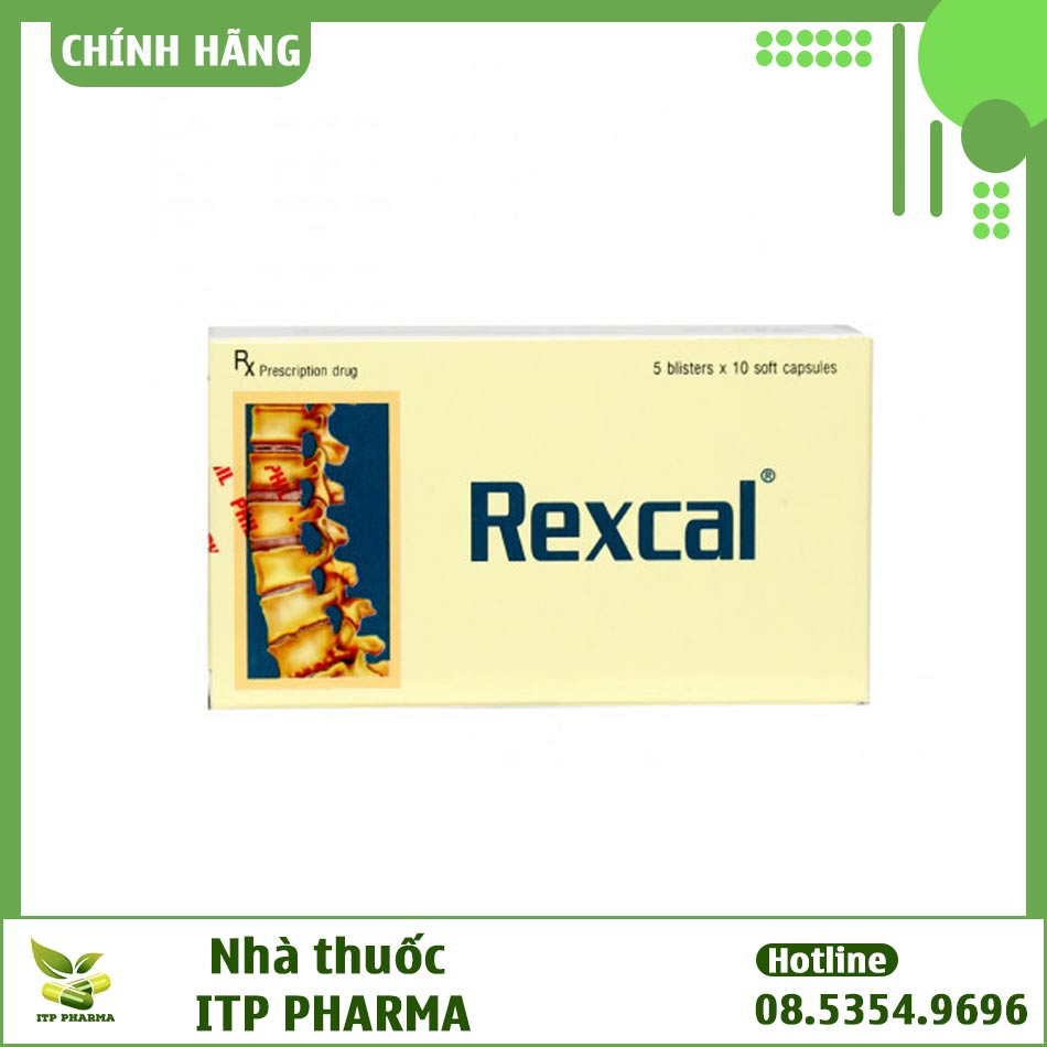Hộp thuốc Rexcal