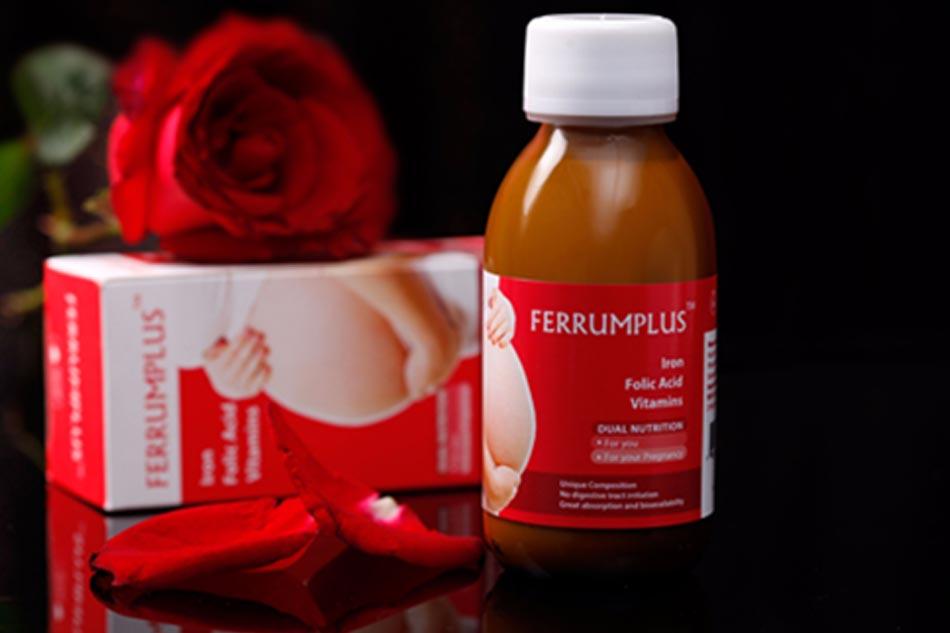 Thuốc sắt dạng nước Ferrumplus