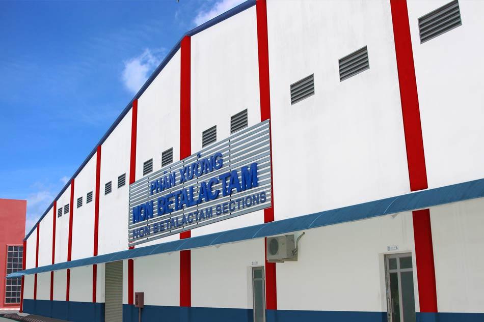 Phân xưởng thuốc kháng sinh Non betalactam