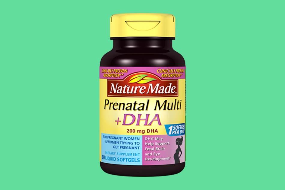 Vitamin tổng hợp Prenatal Multi + DHA cho bà bầu