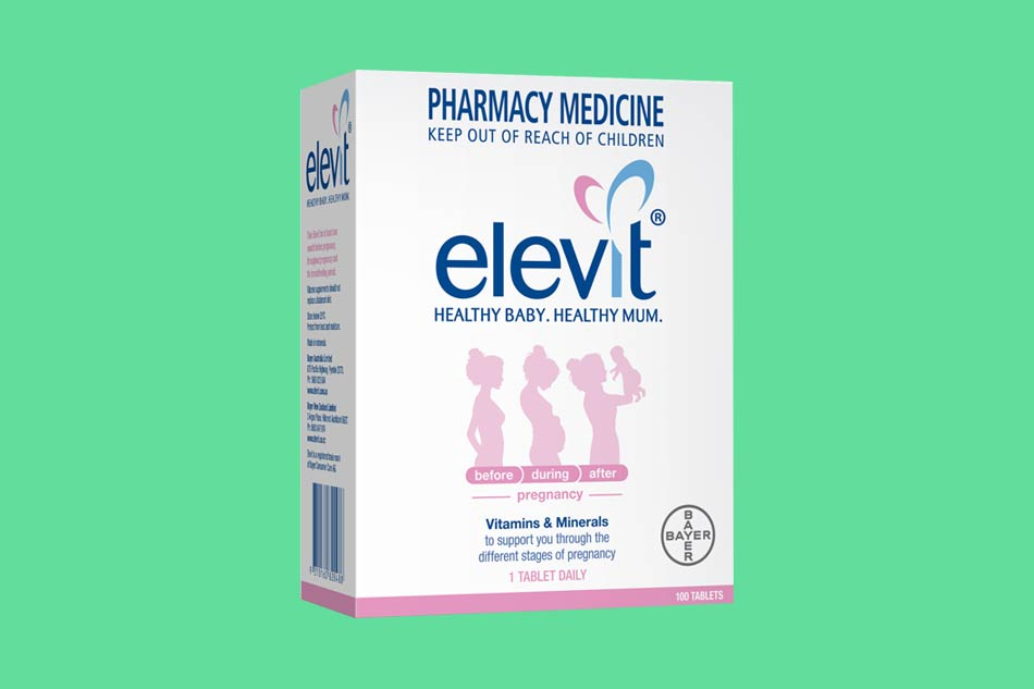 Viên uống Elevit bổ sung sắt và vitamin
