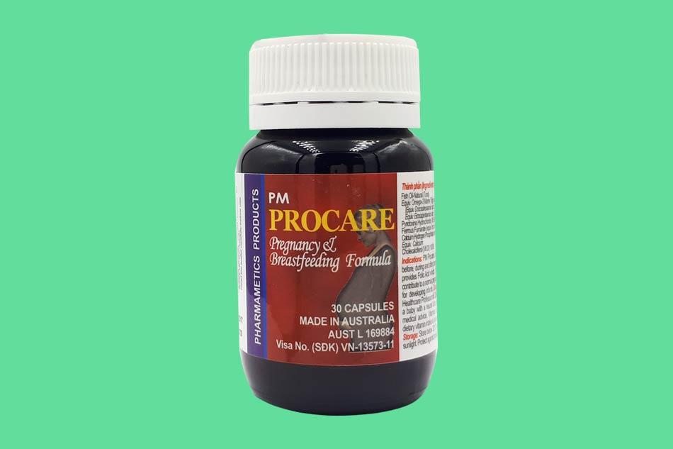 Procare (Úc) – thuốc bổ cho bà bầu