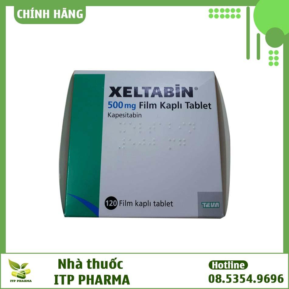 Xeltabine sử dụng cho bệnh nhân ung thư