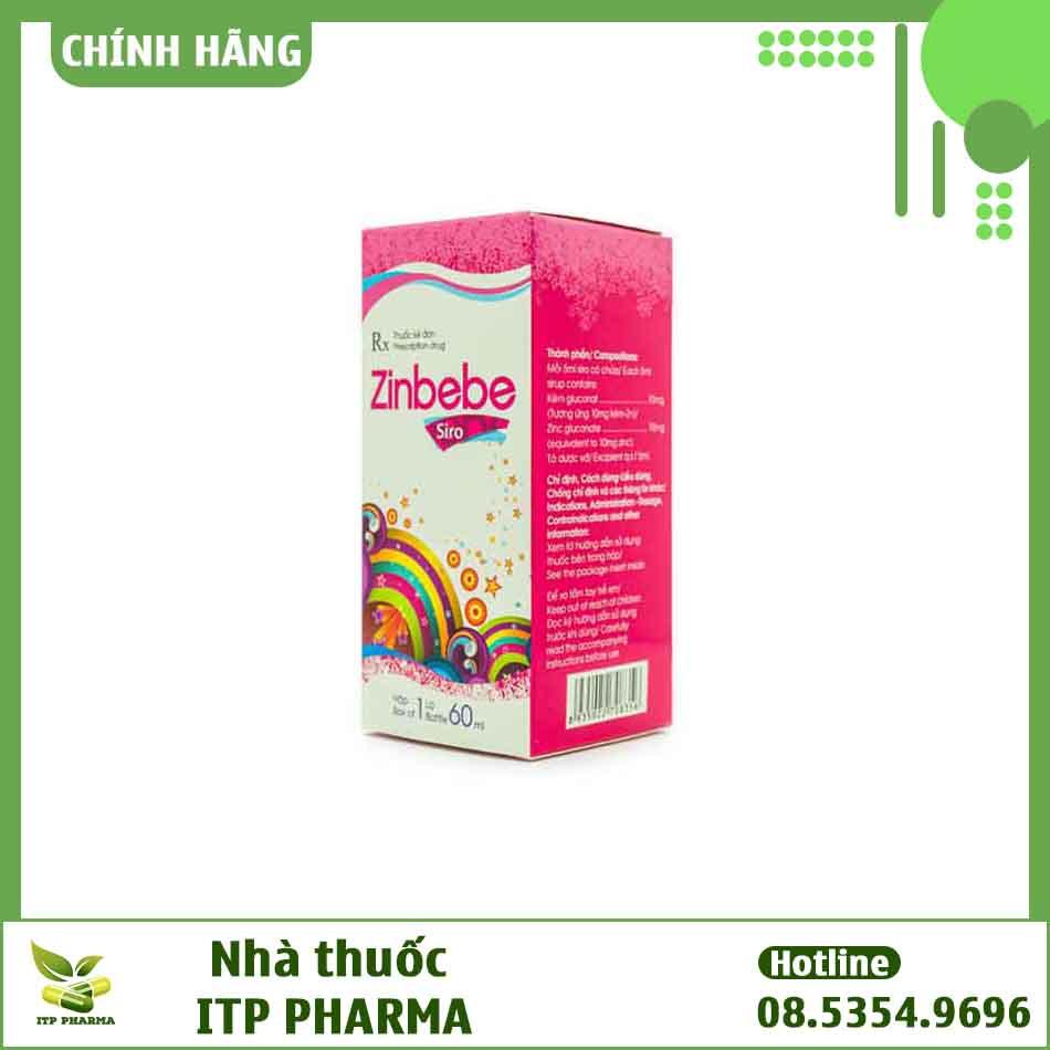 Hình ảnh hộp thuốc Zinbebe