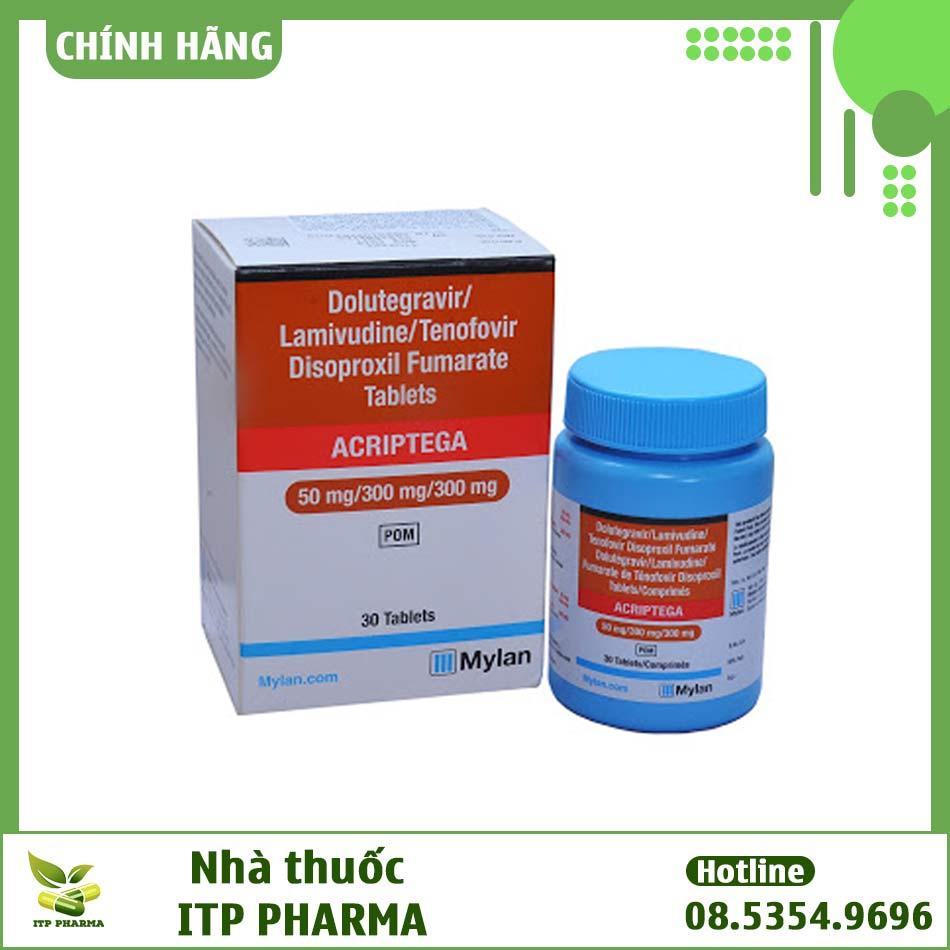 Hình ảnh thuốc ARV Acriptega